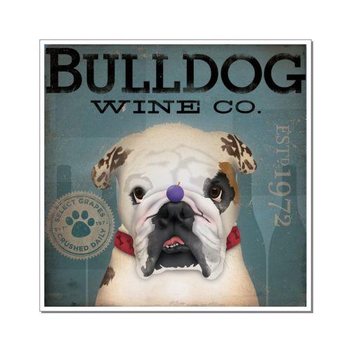 Raça Bulldog Inglês Adesivo
