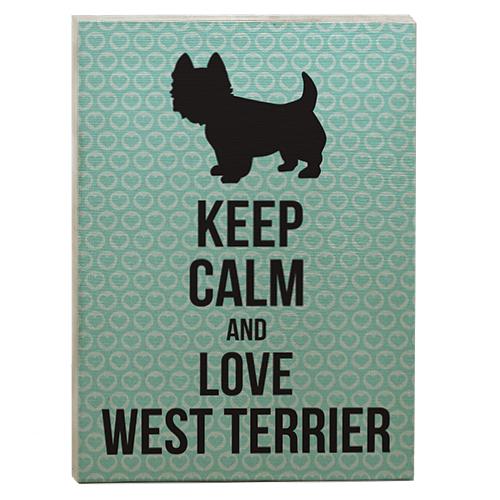 raça west terrier quadro